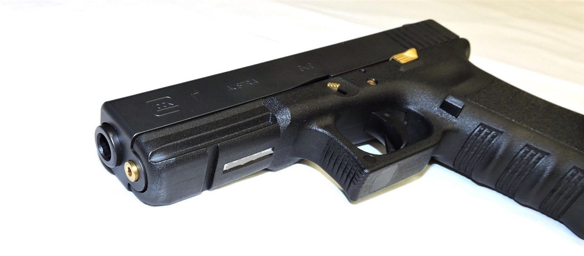 TiN Coated Extended Control Kit For Glock Gen 3