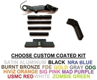 Polymer 80 Extended Control Kit For GLOCK Includes GLOCK OEM Extended Slide Release And Extended  Mag Release