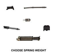 Upper Parts Kit For GLOCK 43 43X With Stainless Steel Guide Rod Assembly