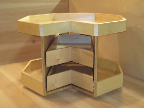 Lc2927 2cw L Corner 2 Drawer Cookware Module 31 Diameter