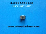Dental Bearing For Siemens-Sirona 4000 S,Ml,Ms,Sl, Ts-1, Tm-1