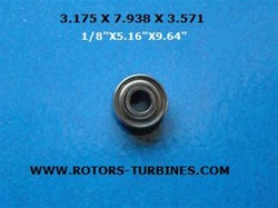BEARING FOR BIEN AIR BORA, BLACK PEARL, BIEN AIR LAB