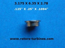 DENTAL BEARING FOR MIDWEST TRADITION LEVEL FRONT, TRADITION PUSH BUTTON REAR & FRONT/ QUIET AIR FRONT.