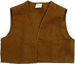 Brownie Vest Small - OLD STYLE