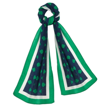 Official Trefoil Design Scarf