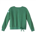 PRE-ORDER Forest Green French Terry Drawstring Sweatshirt
