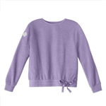 PRE-ORDER Violet French Terry Drawstring Sweatshirt