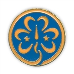 World Trefoil Pin (WAGGGS Girl Scout PIN)