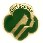 Contemporary Girl Scout Membership Pin