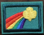Sign of the Rainbow - RETIRED Girl Scout Junior Award