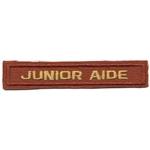 Junior Aide Award