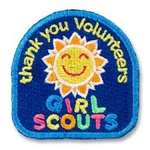 Thank You Volunteer Fun Patch