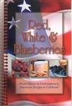 Cookbooks!- Red, White, & Blueberries