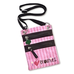 Brownie Cross Body Zipper Bag