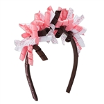 Brownie Ribbon Headband