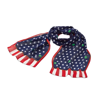 Official American Flag Scarf