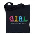 G.I.R.L. Canvas Tote Bag