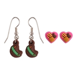 Girl Scout Cookie Earring Set