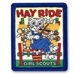 Sew-On Hayride Cat