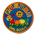 Sew-On Future Girl Scout Fun Patch