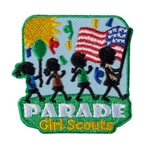 Girl Scouts Parade Patch - 4 Girls