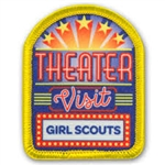 Theater Visit Sew-On Fun Patch