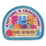 Knitting and Crocheting Fun Patch