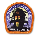 Haunted House Visit Sew-On Fun Patch