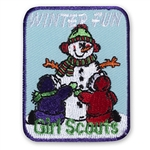 Winter Fun Sew-On Fun Patch
