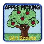 Apple Picking Sew-On Fun Patch
