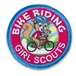 Bike Riding Sew-on Fun Patch