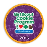 Girl Scout Cookie Program Digital Cookie 2015 Sew-on Fun Patch