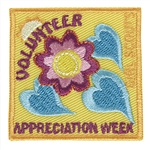 Volunteers Appreciation Week Sew-On Fun Patch