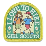 Love to Hike Sew-On Fun Patch