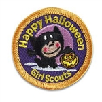 Happy Halloween Sew-On Fun Patch