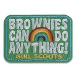 Brownies Can Do Anything Fun Patch