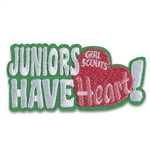Juniors Have Heart! Fun Patch