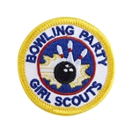 Bowling Party Sew-On Fun Patch