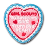 Volunteer's give from the Heart