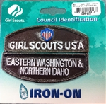 Brownie Girl Scout Girl Scouts EWNI Council ID Set