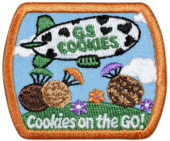 Cookies on the Go! Fun Patch