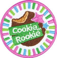 Cookie Rookie Iron-on Fun Patch