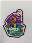 Cookie House Party Fun Patch