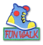 Fun Walk Sew-On Fun Patch