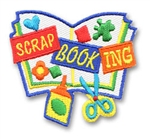 Scrapbooking Sew-On Fun Patch