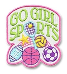 Go Girl Sports Sew-On Fun Patch