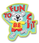 Fun to be Fit Sew-On Fun Patch
