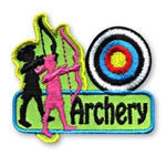 Archery Fun Patch (2 girls)