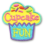 Cupcake Fun Sew-On Fun Patch