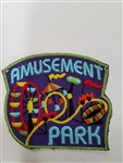 Amusement Park purple Fun Patch
